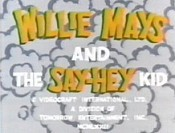 Willie Mays And The Say-Hey Kid Cartoon Picture