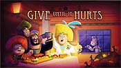 Give Until It Hurts Cartoon Picture