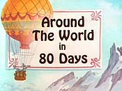 Around The World In 80 Days Cartoon Character Picture