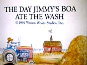 The Day Jimmy's Boa Ate The Wash Cartoon Picture
