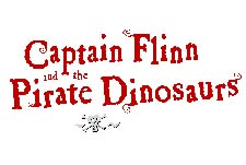 Captain Flinn and the Pirate Dinosaurs  Logo