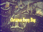 Christmas Every Day Picture To Cartoon