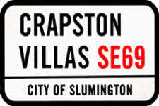 Crapston Villas Episode Guide Logo