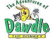 Dawdle The Rainbow Donkey Free Cartoon Picture