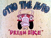 Dream Bike Cartoon Picture