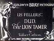 Dud, The Lion Tamer The Cartoon Pictures