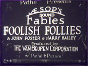 Foolish Follies Picture Of Cartoon