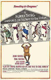 A Funny Thing Happened on the Way to the Forum Cartoon Picture