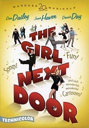 The Girl Next Door Picture Into Cartoon