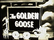 Golden Goose Cartoon Picture