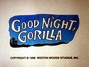Good Night, Gorilla Pictures To Cartoon