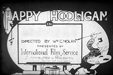 Happy Hooligan Theatrical Cartoon Series Logo