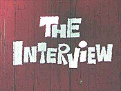 The Interview Cartoon Character Picture