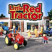 Little Red Tractor's Birthday Pictures To Cartoon