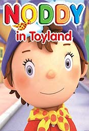 Noddy Gets Busy Cartoon Character Picture