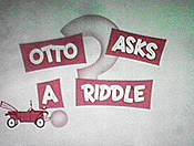 Otto Asks A Riddle Cartoon Picture