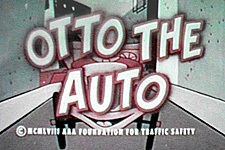 Otto The Auto Theatrical Cartoon Series Logo