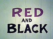 Czerwone i czarne (Red and Black) Picture Of Cartoon