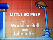 Little Bo Peep Pictures Of Cartoons