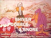 Why People Have Laws, or Shiver Gobble & Snore Pictures Of Cartoon Characters