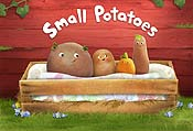 Potato Train Cartoon Character Picture
