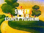 Sniffy Escapes Poisoning Cartoon Picture