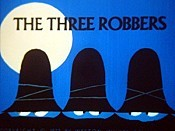 The Three Robbers Picture Into Cartoon