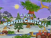 A Very Wompkee Christmas Cartoon Character Picture