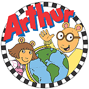 Arthur's Eyes Picture Into Cartoon