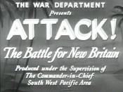 Attack! The Battle of New Britain Free Cartoon Picture