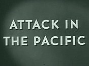 Attack In The Pacific Free Cartoon Picture