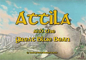Attila And The Great Blue Bean Picture Of Cartoon
