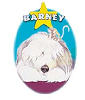 Barney's TV Act Cartoon Picture