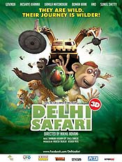 Delhi Safari Cartoon Picture