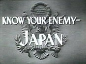 Know Your Enemy- Japan Picture Of The Cartoon