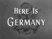 Know Your Enemy- Germany Video