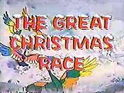 The Great Christmas Race Cartoon Picture
