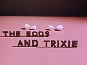 The Eggs And Trixie Cartoon Character Picture