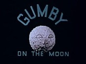 Gumby On The Moon Cartoon Picture