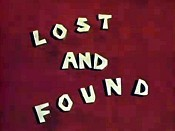 Lost And Found Free Cartoon Pictures