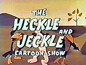 The Heckle And Jeckle Cartoon Show (Series) Picture Into Cartoon