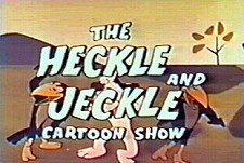 The Heckle And Jeckle Cartoon Show  Logo