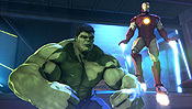 Iron Man & Hulk: Heroes United Pictures To Cartoon