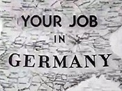 Your Job In Germany Free Cartoon Picture