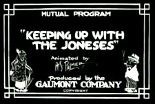 Keeping Up With The Joneses Theatrical Cartoon Logo