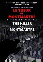 Le Tueur De Montmartre (The Killer Of Montmartre) Picture Of The Cartoon