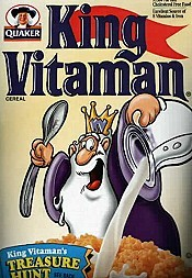 King Vitaman Intro Cartoon Character Picture