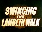 Swinging The Lambeth Walk Picture To Cartoon