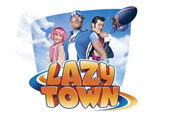 LazyTown Picture Into Cartoon