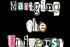Managing The Universe  Logo